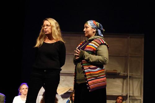 Ylva Julén och Gabriela Diia