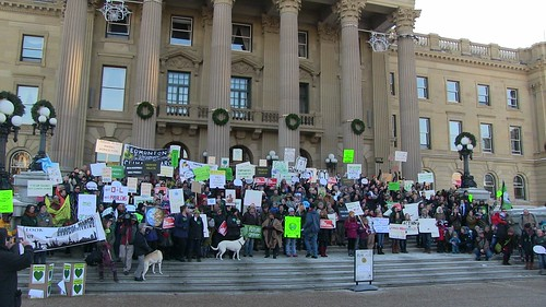 People's Climate March - Edmonton