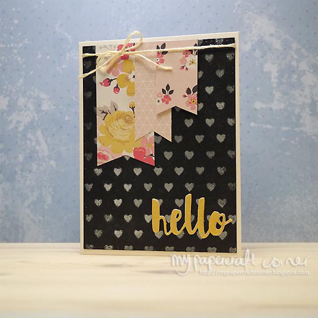 Hello card #384