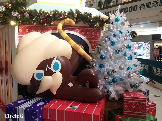 CIRCLEG 徵圖 世界各地聖誕裝飾 2015 香港 鑽石山 荷里活商場  COOKIERUN COOKIE RUNG PLAZA HOLLYWOOD (4)