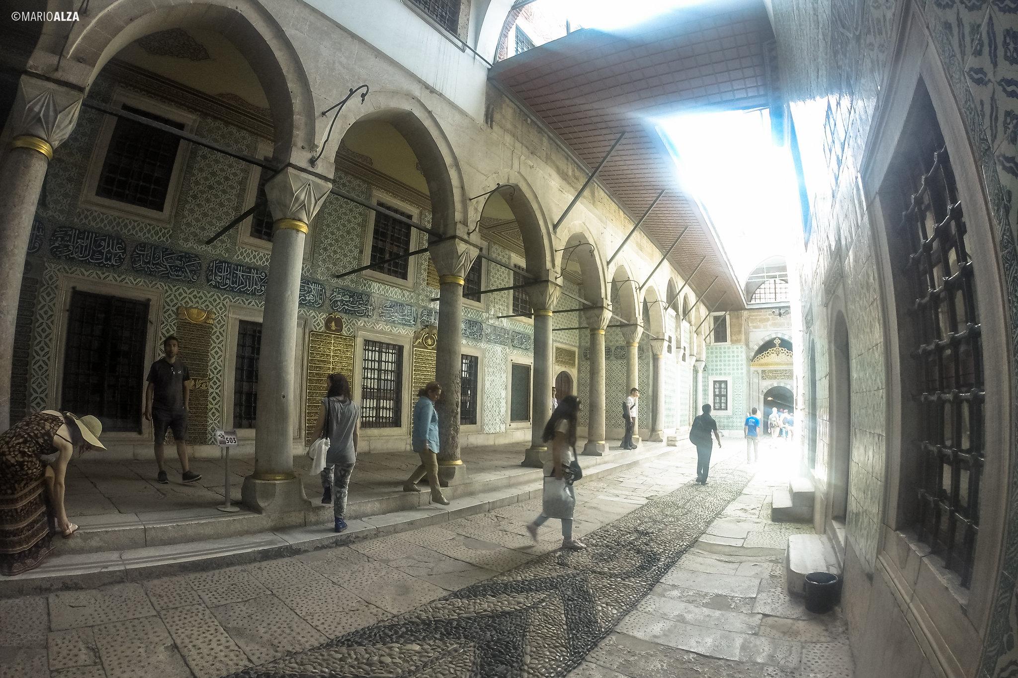 El Harén del Sultán en el Palacio Topkapı