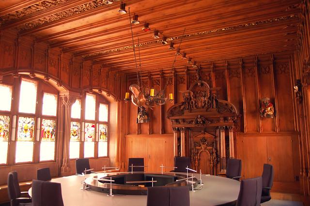 Regierungsratssaal, Rathaus, Basel, CH