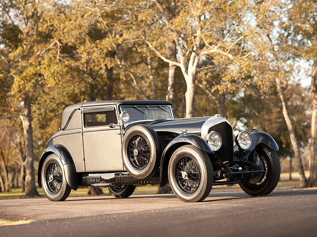Bentley 6 ½ Litre Sport Coupe 1927 года