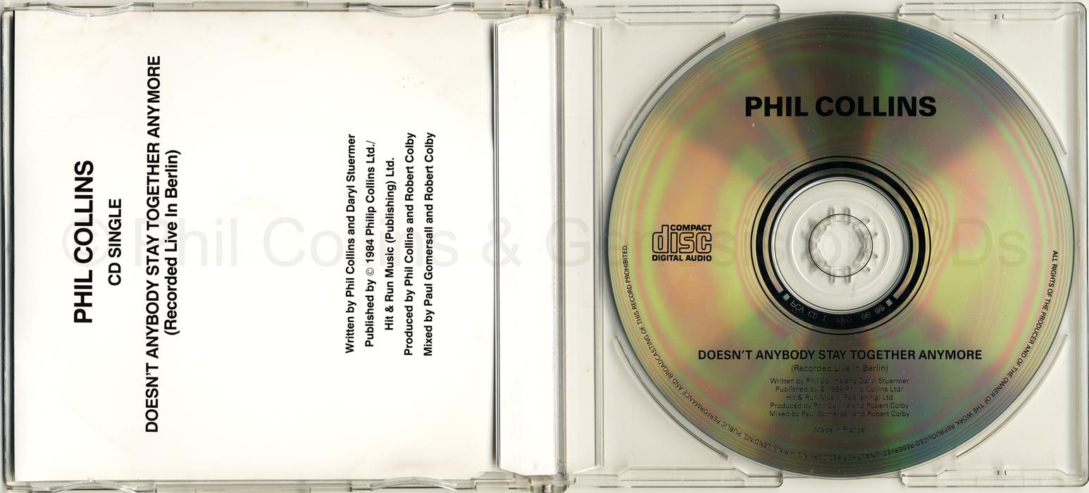 CD single scan