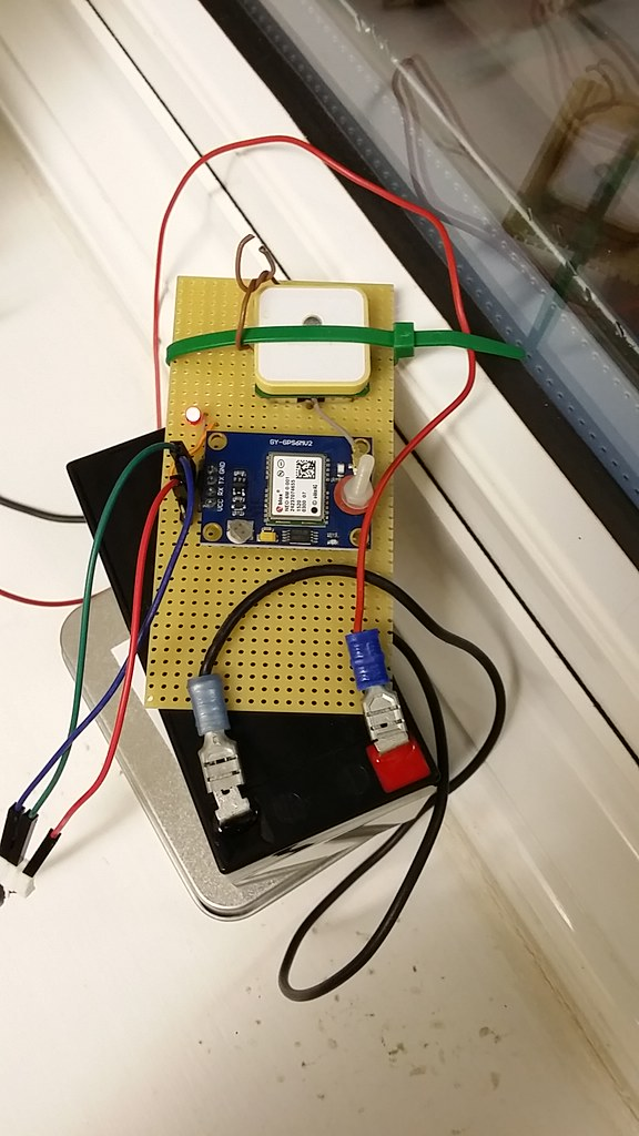 Chinese UBlox GPS Board being tested | Martin Rigby | Flickr