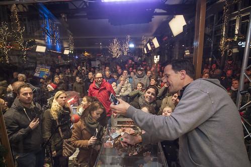 Een selfie met Mark Rutte
