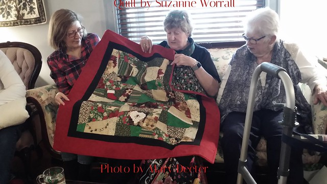 Suzanne's Crazy Quilt