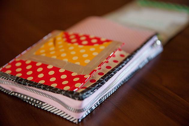 母子手帳ケース試作第二弾ポケットマチ