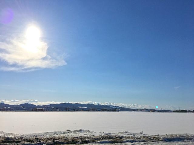 Snowy Fields in Kuriyama, Apple iPhone 6s Plus, iPhone 6s Plus back camera 4.15mm f/2.2