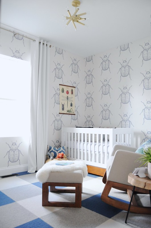 Beetle Boy Nursery Reveal