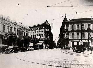 Largo e Rua de São Bento - 1914