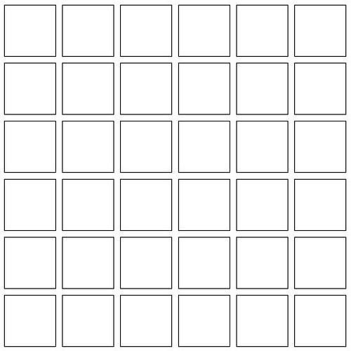 Blank Calendar Squares : Square box template new calendar site