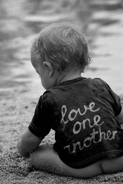 yes, love one another