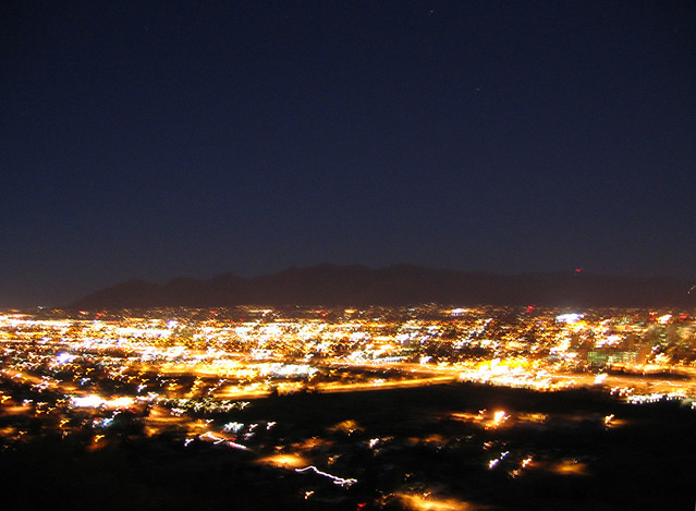 tucson at night nasa - photo #21