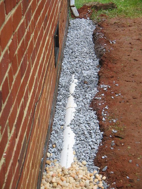French drain flickr photo sharing for French drain collection box
