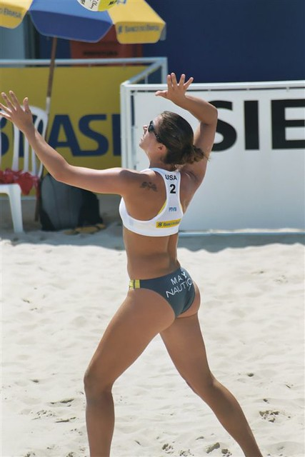 May - beach volleyball