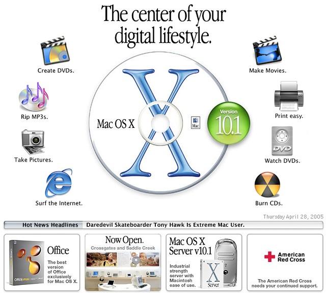 Mac OS X 2001