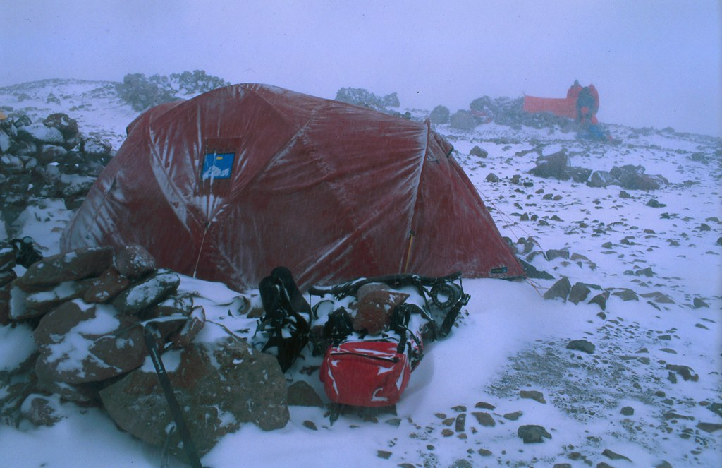camp 2 aconcagua