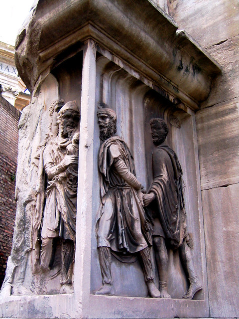 forum: arch of septimius severus, detail | Flickr - Photo ...