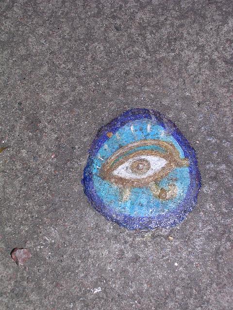 Ben's chewing gum art - Dscn3701