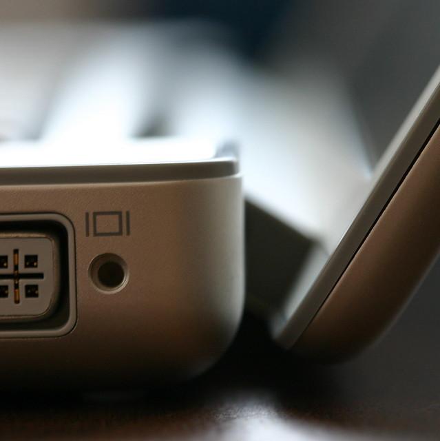 PowerBook Side View Detail