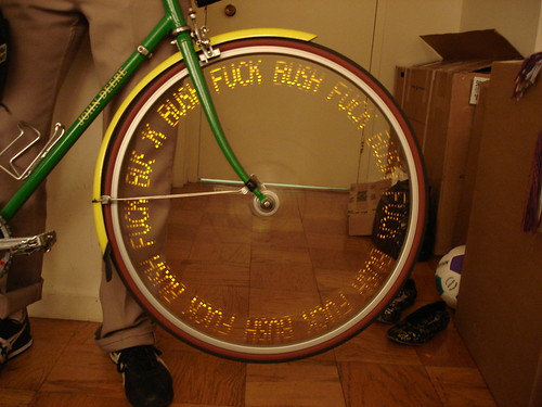 my bike wheel pov toy