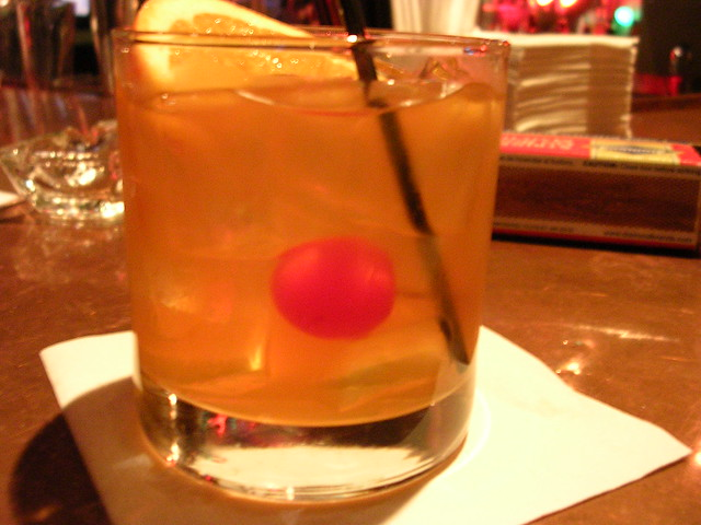 Amaretto sour (with the cherry, please)   I am particular ab ...