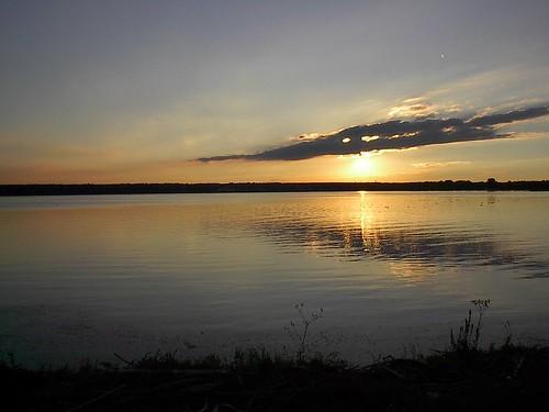 sunset lake ny water seneca