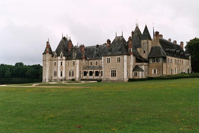 chateau de la verrerie france built in 16th century by. Black Bedroom Furniture Sets. Home Design Ideas