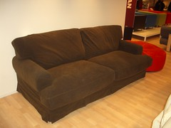 floor, furniture, loveseat, sofa bed, living room, couch, studio couch, hardwood,