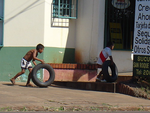 The often-unseen children's culture of Paraguay