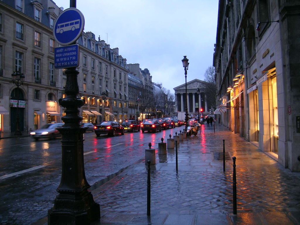 paris a rainy day essay
