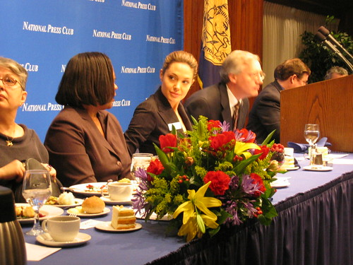 Angelina Jolie at the National Press Club