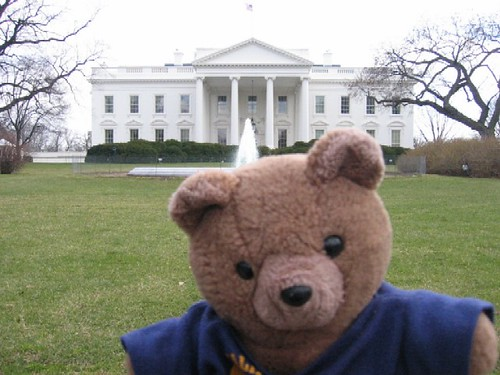 Andre at the White House