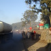 Morning traffic in Gondar