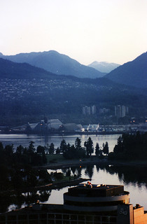 Vancouver at dawn