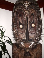 carving, art, sculpture, tiki,