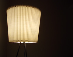 lamp, incandescent light bulb, light fixture, yellow, white, lampshade, light, lighting,