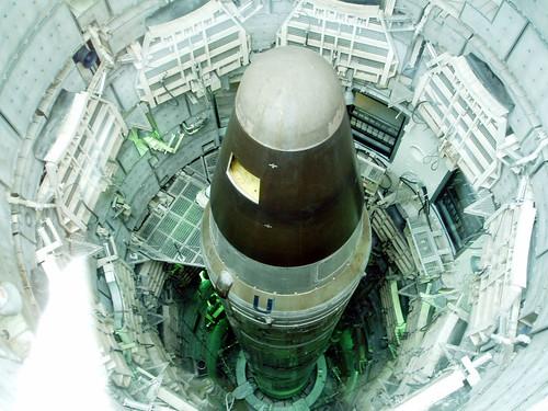 Titan missile in its silo