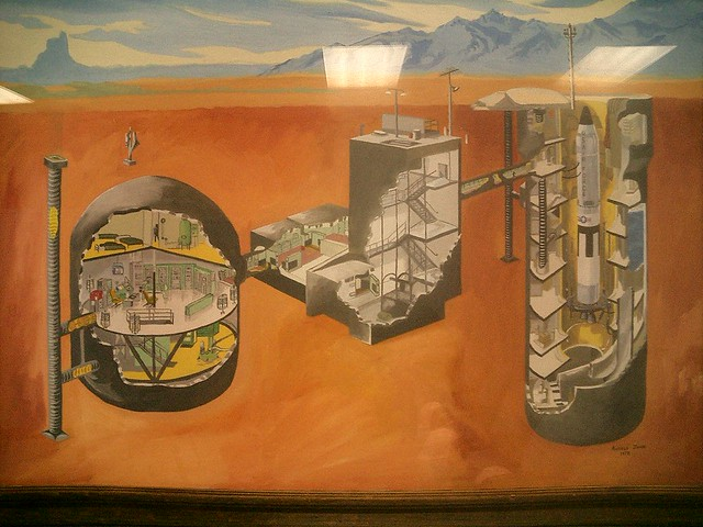 Cutaway drawing of the Titan missile silo | This was ...