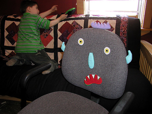 silly chair monster