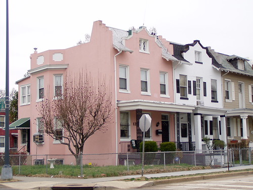 Pink House on Staples