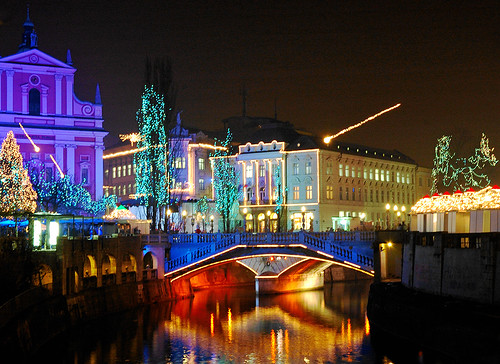 "Just another ""Ljubljana by night"" shot"
