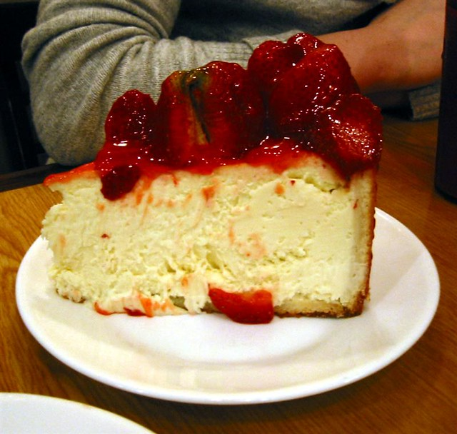 Cheesecake Dessert With Coffee Cake Brown Sugar Crumbs