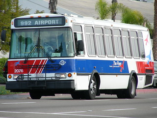 MTS Airport bus