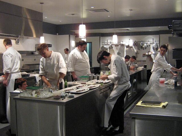 Alinea Kitchen Flickr Photo Sharing
