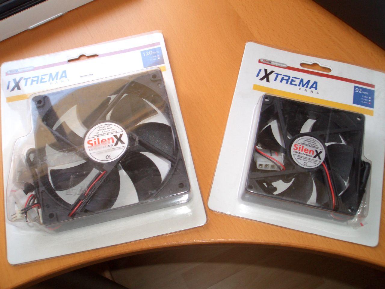 Ventiladores SilenX