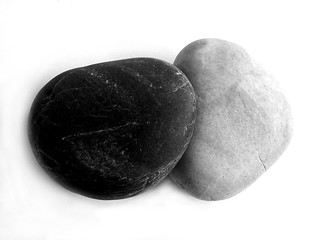 Black & White Rocks
