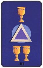 significado cartas numero 3 tarot
