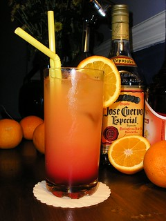 Tequila Sunrise | by Drunken Monkey